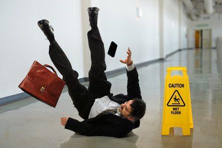 Wet floor accident guide