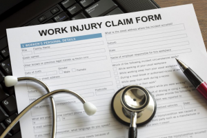 accident at work claim