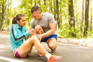 Knee injury claims