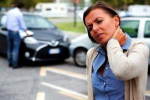 Car park accident