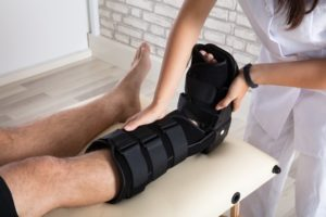 Compensation For A Fractured Ankle
