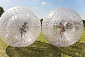 Zorbing injury compensation