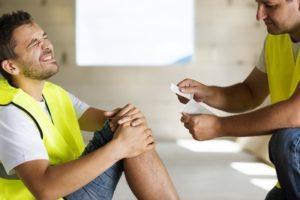 Broken knee cap compensation