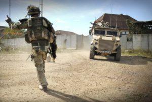 Soldier injured at work compensation