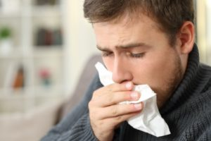 Restaurant food allergic reaction
