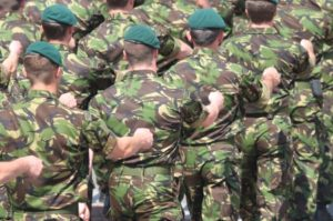 British Army workplace injury claims information