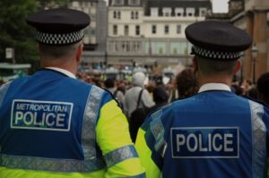 Metropolitan Police Service accident at work