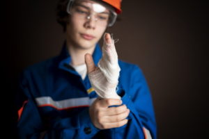 what steps should i take when injured at work