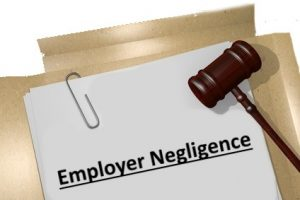 could i sue my employer for negligence