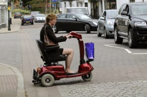Mobility scooter accident claims