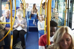 Bus emergency stop accident claims