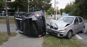Car accident in Denmark