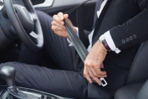 injured by a seatbelt claim
