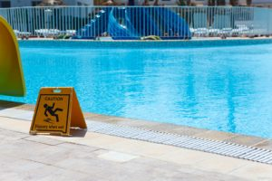 Swimming pool accident claims