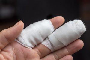 chopping and slicing injury claims
